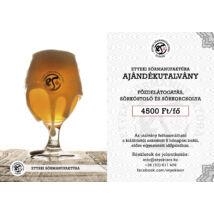 Ajándékutalvány - Sörkóstoló, sörkorcsolya és főzdelátogatás