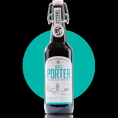 Bards Porter - Kézműves etyeki élősör - webshop rendelés
