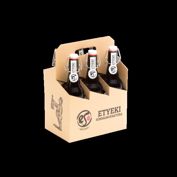 Hatos gyűjtőkarton etyeki kézműves sörök mellé